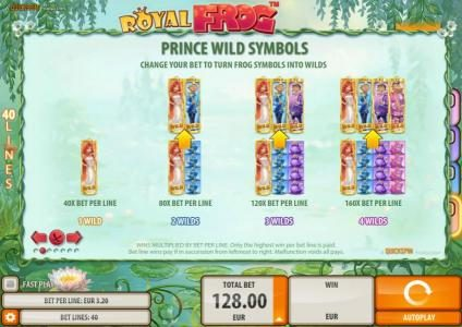 Casumo featuring the Video Slots Royal Frog with a maximum payout of $200,000