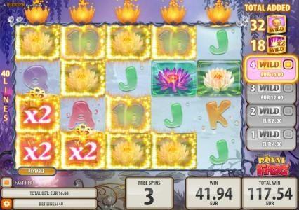 Play slots at Crystal: Crystal featuring the Video Slots Royal Frog with a maximum payout of $200,000