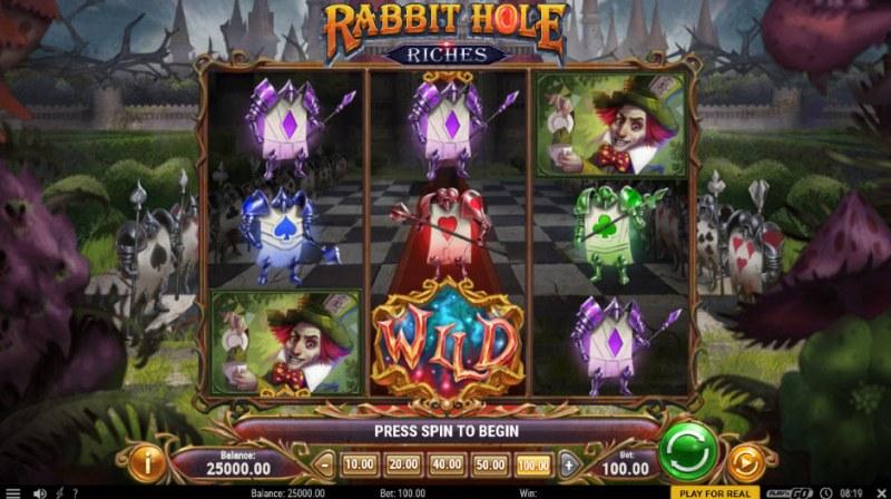 Rabbit Hole Riches :: Main Game Board
