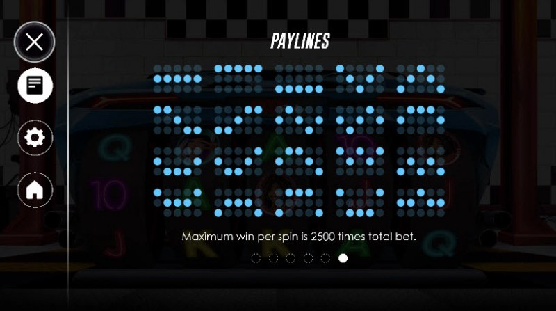 Racer Babes :: Paylines 1-20