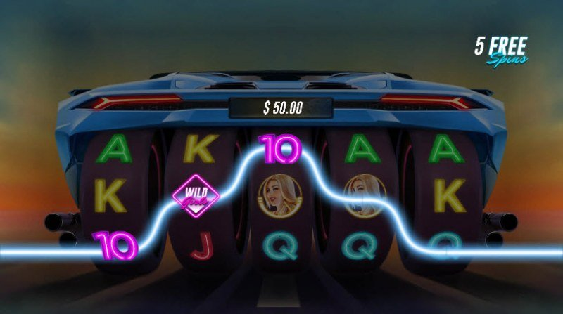 Racer Babes :: Free Spins Game Board