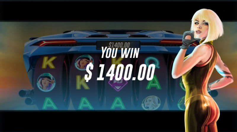 Racer Babes :: Total free spins payout