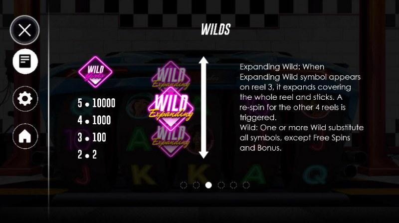 Racer Babes :: Wild Symbols Rules