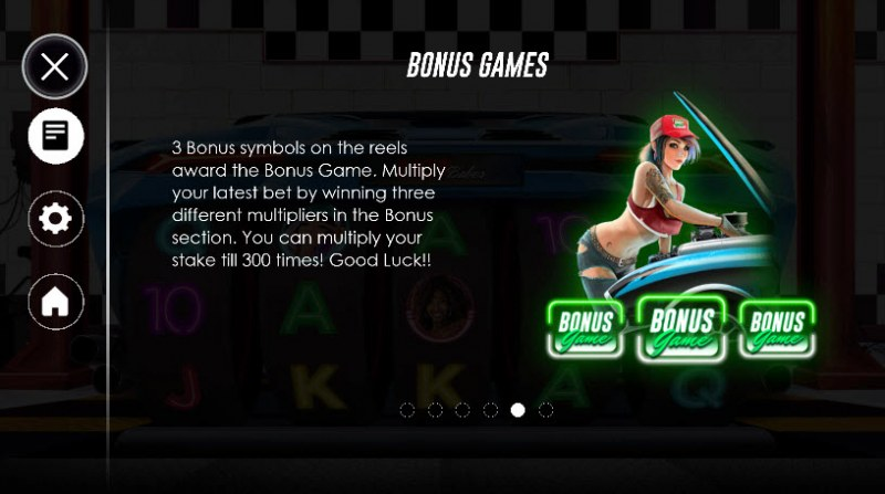 Racer Babes :: Bonus Game Rules