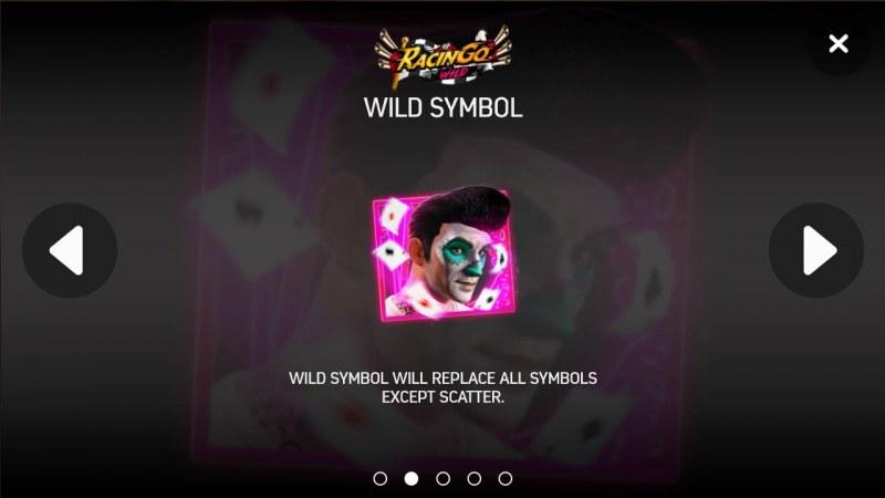 RacinGo Wild :: Wild Symbols Rules