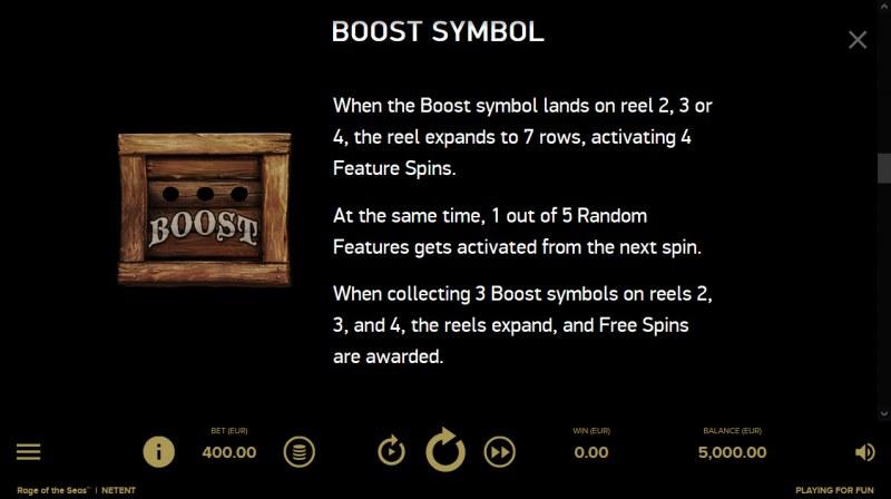 Rage of the Seas :: Boost Symbol