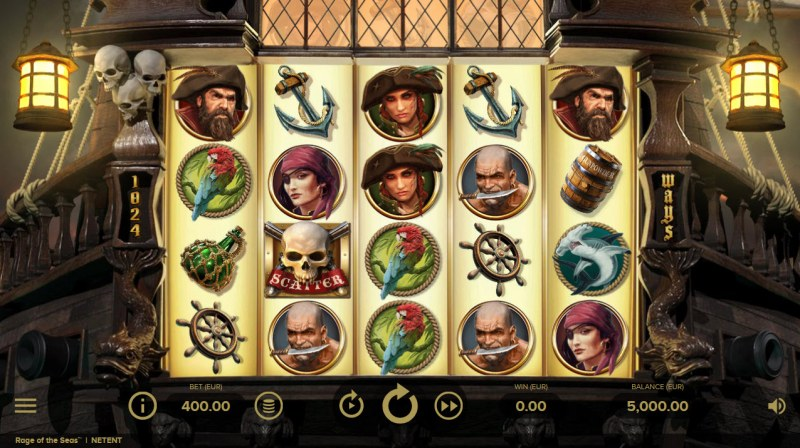 Rage of the Seas :: Base Game Screen