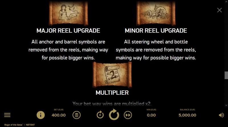 Rage of the Seas :: Random Features