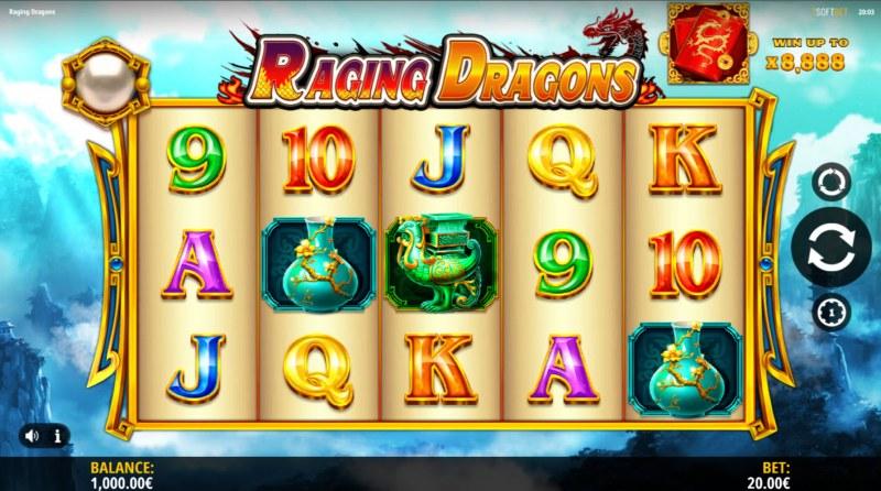 Raging Dragons :: Main Game Board