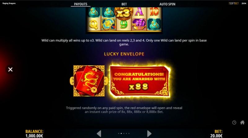 Raging Dragons :: Lucky Envelope