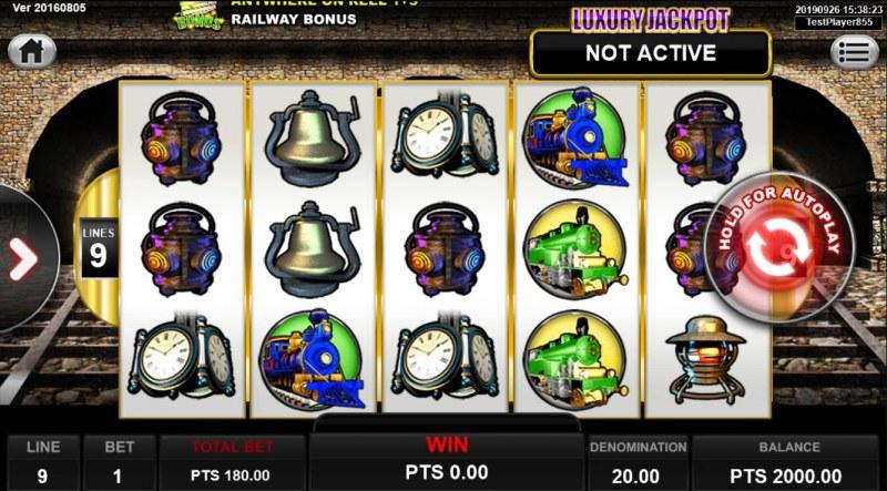 Railway King :: Main Game Board