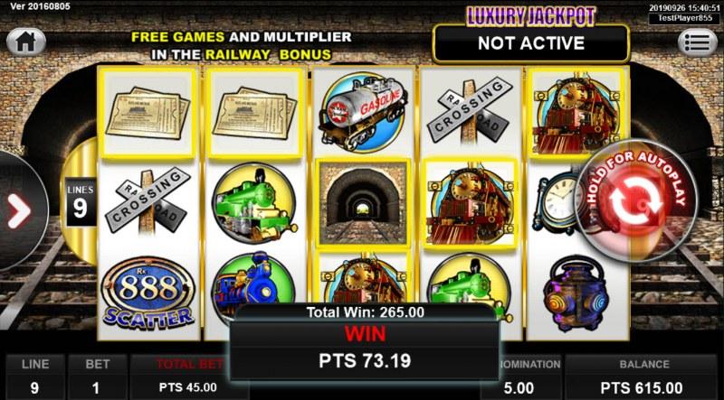 Railway King :: Multiple winning paylines