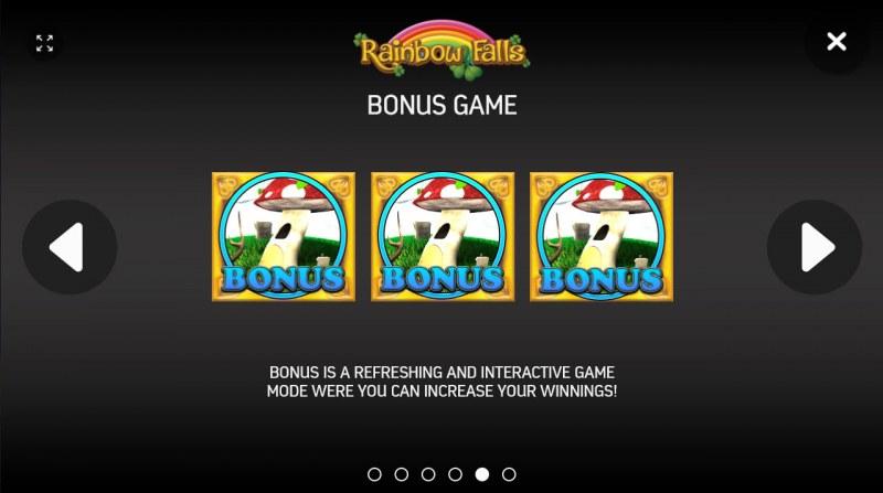 Rainbow Falls :: Bonus Game Rules