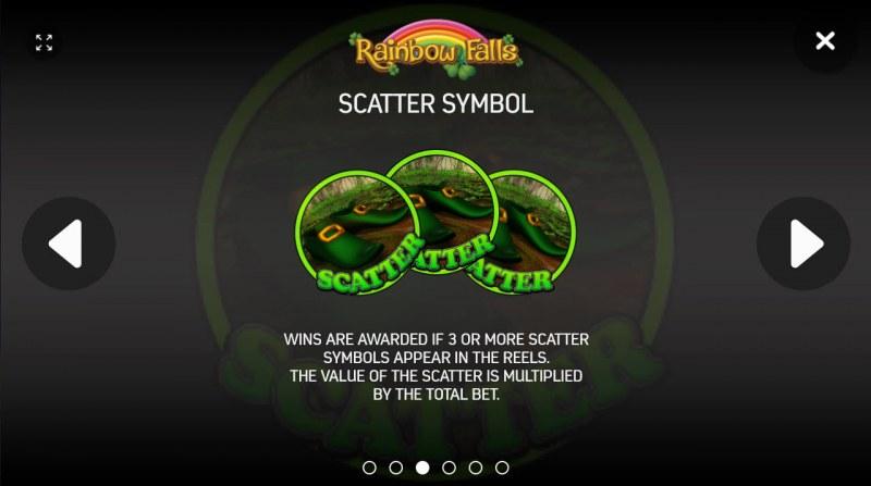 Rainbow Falls :: Scatter Symbol Rules