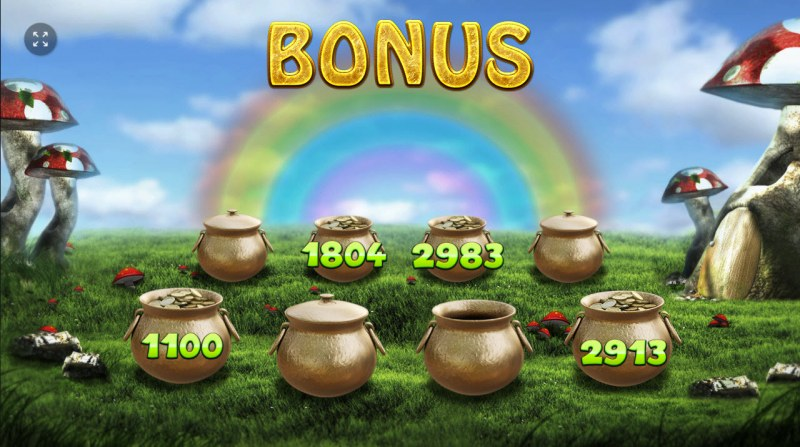 Rainbow Falls :: Game play endsonce an pot is revealed