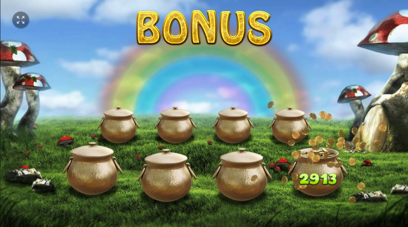 Rainbow Falls :: Pick pots of gold for a chance to win a prize