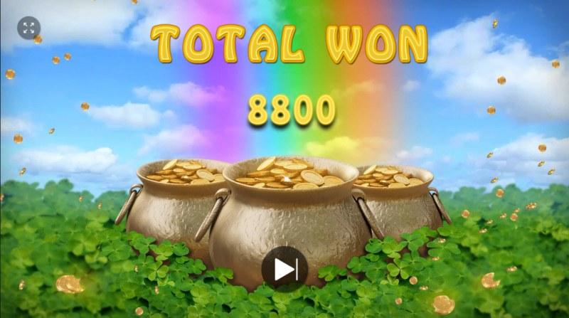 Rainbow Falls :: Total bonus payout