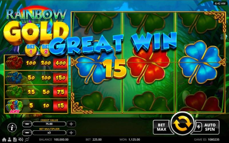 Rainbow Gold :: Great Win