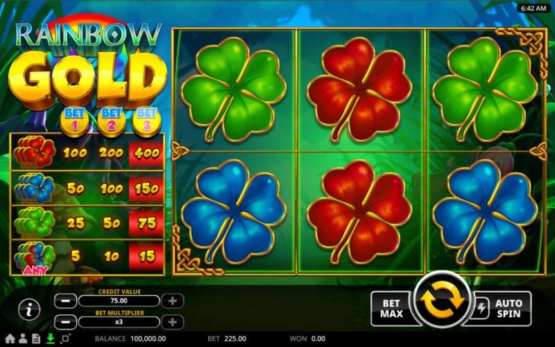 Rainbow Gold :: Main Game Board