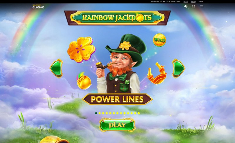 Rainbow Jackpots Power Lines :: Feature Rules