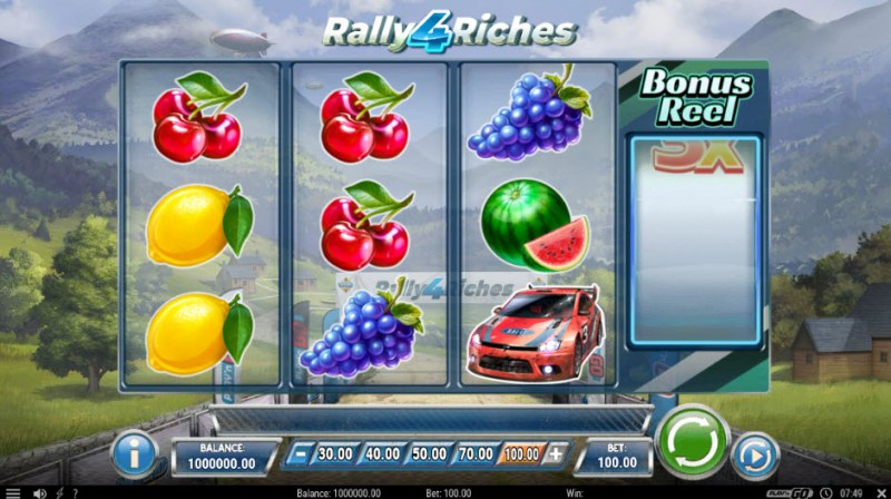 Rally 4 Riches :: Main Game Board