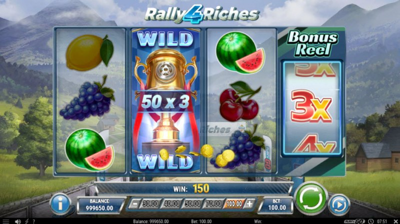 Rally 4 Riches :: 3x multiplier awarded