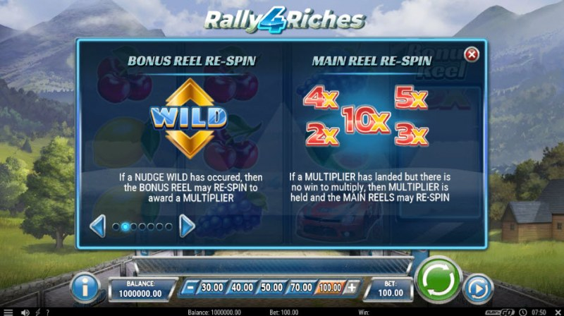 Rally 4 Riches :: Feature Rules