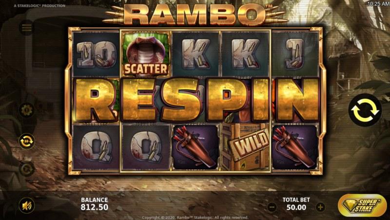 Rambo :: Respin triggered