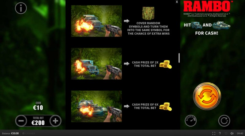 Rambo :: On-Reel Features
