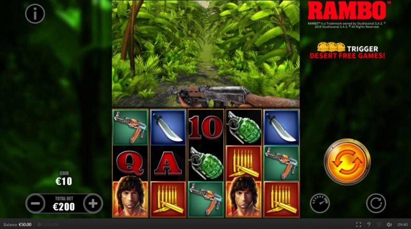 Rambo :: Main Game Board