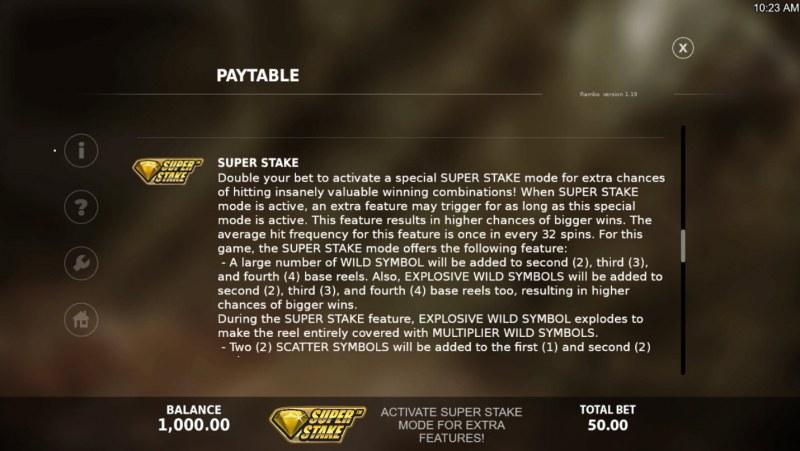 Rambo :: Super Stack