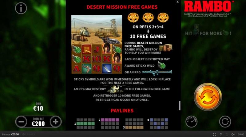 Rambo :: Free Games