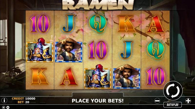 Ramen :: Main Game Board