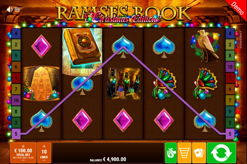 Ramses Book Christmas Edition :: A three of a kind win