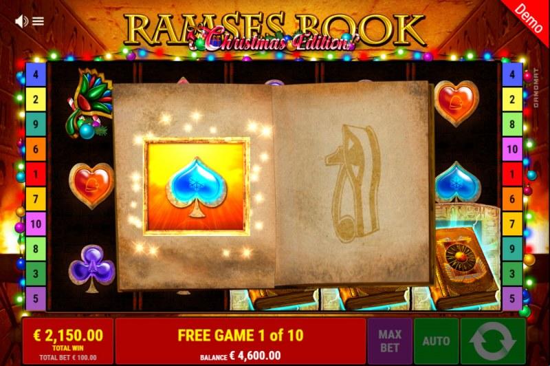 Ramses Book Christmas Edition :: Special Expanding Symbol