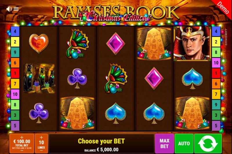 Ramses Book Christmas Edition :: Main Game Board
