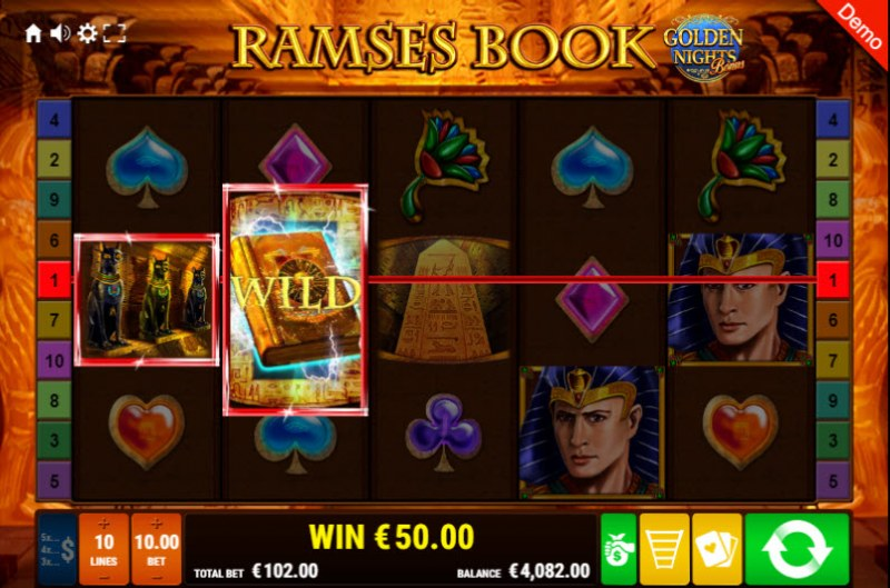 Ramses Book Golden Nights Bonus :: Two of a kind