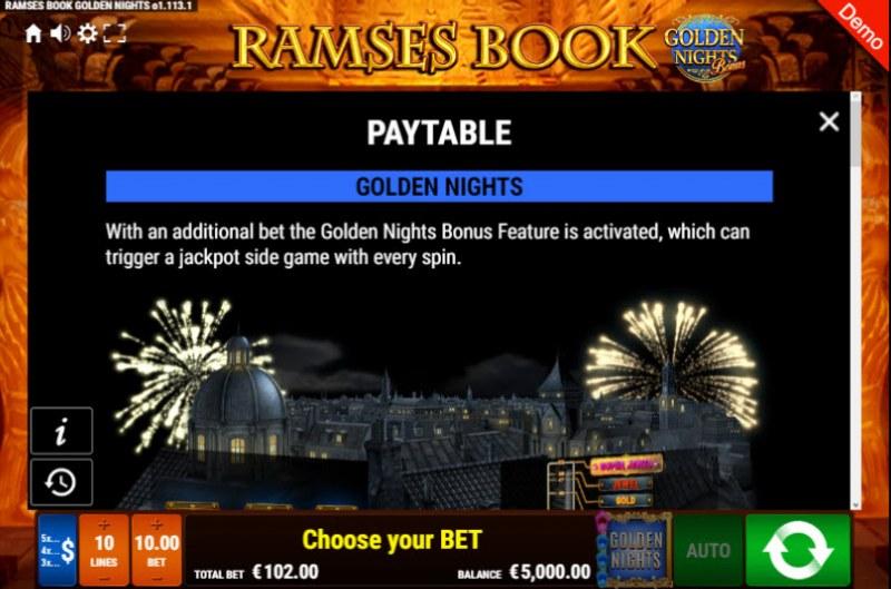 Ramses Book Golden Nights Bonus :: Golden Nights Bonus