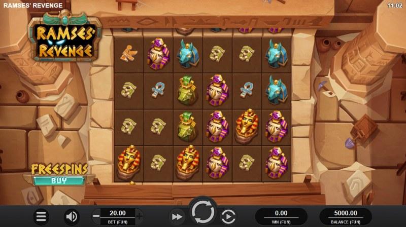 Ramses' Revenge :: Main Game Board