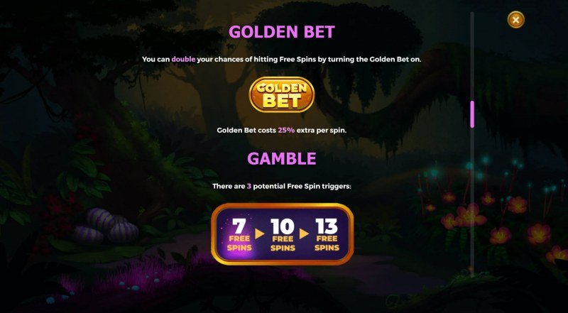 Raptor Doublemax :: Golden Bet
