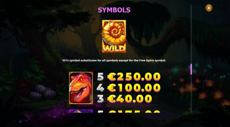 Raptor Doublemax :: Wild Symbol Rules