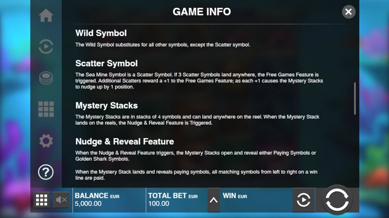 Razor Shark :: General Game Rules