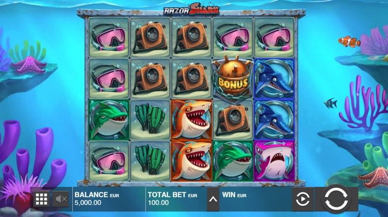 Razor Shark :: Main Game Board