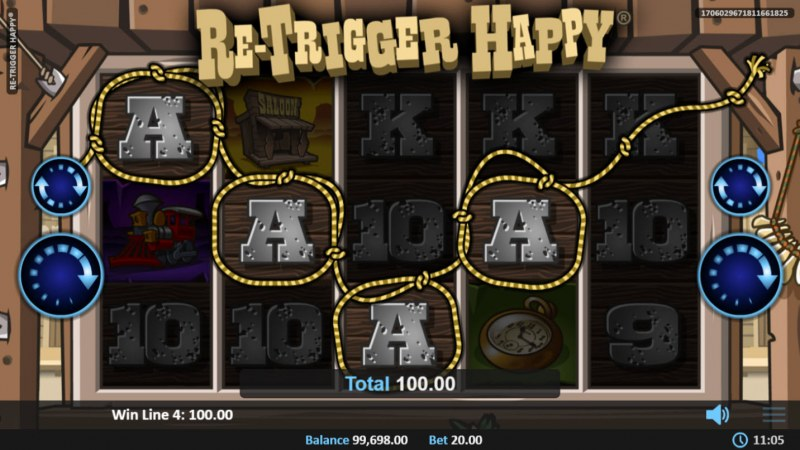 Re-Trigger Happy :: A winning 4 of a kind