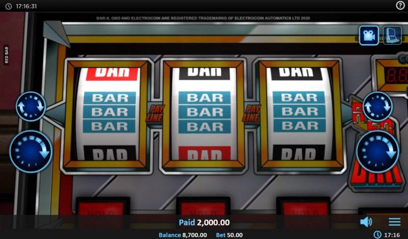 Red BAR :: Repeat Win