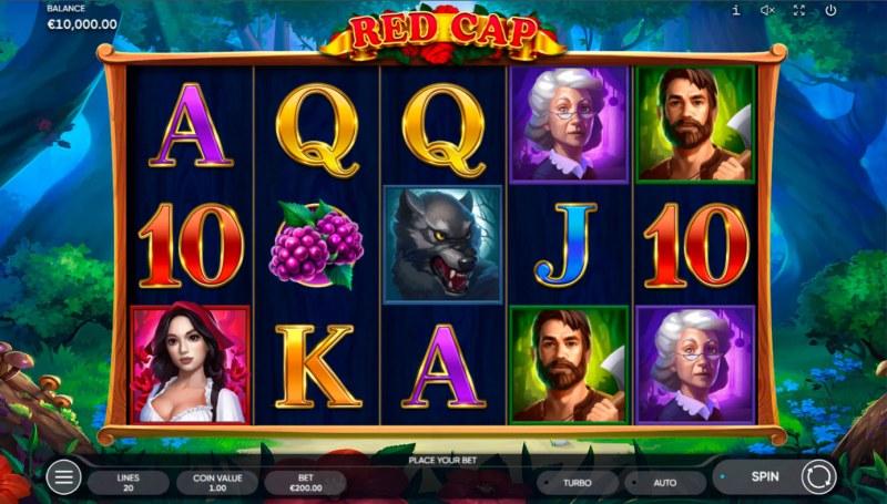 Red Cap :: Base Game Screen