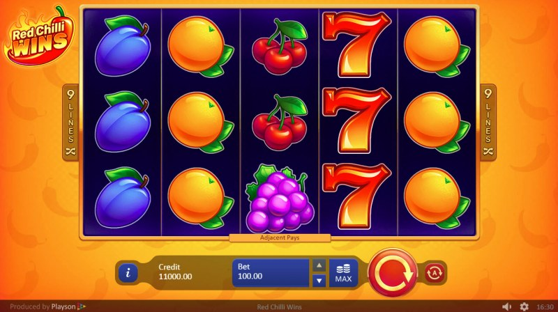 Red Chilli Wins :: Main Game Board