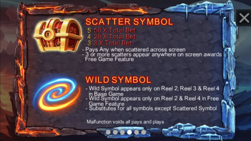Red Dragon :: Wild and Scatter Rules