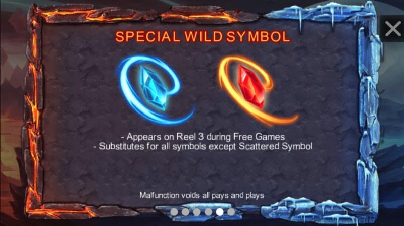 Red Dragon :: Special Wild Symbols