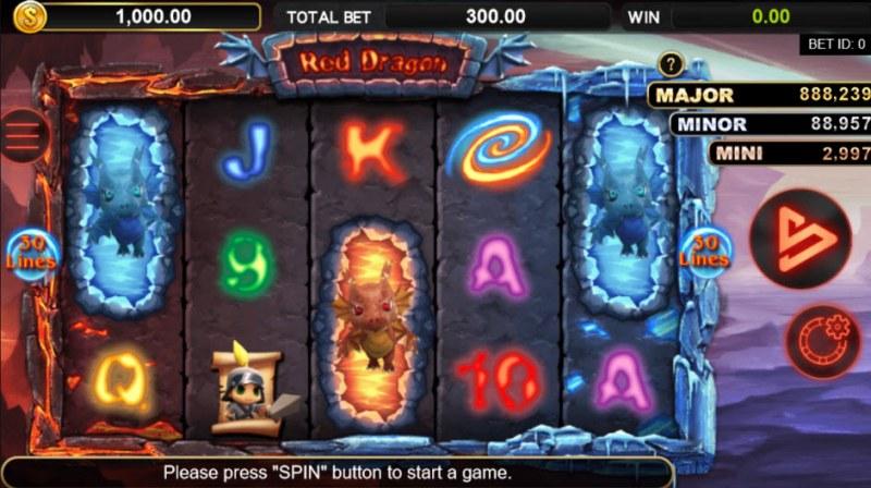Red Dragon :: Main Game Board